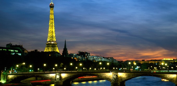 Seine River and Eiffel TowerParisFrance
