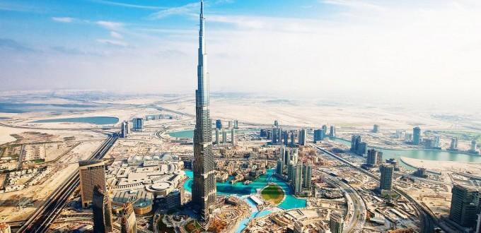 Dubai wall